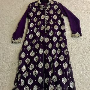 Purple Indian Outfit